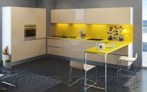 Угловая кухня, модель U1 от ООО Качество-Стиль-Гарантия
