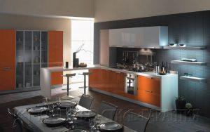 Угловая кухня, модель U2 от ООО Качество-Стиль-Гарантия