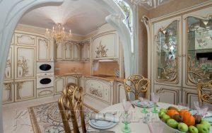Угловая кухня, модель U3 от ООО Качество-Стиль-Гарантия