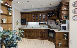 Угловая кухня, модель U4 от ООО Качество-Стиль-Гарантия